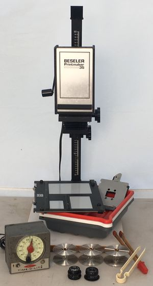 Besseler Printmaker 35 Enlarger w Extras for Sale in Pembroke Pines, FL