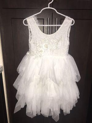 Little girl's flower girl dress, ballerina, tutu dress. for Sale in Hialeah, FL