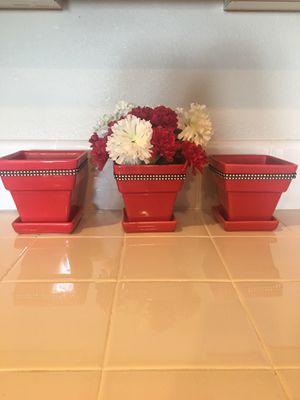 Flower pots for Sale in Fresno, CA