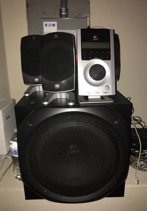 Loud speakers with 7 minis extensions for Sale in Silver Spring, MD