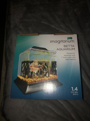 1.4 Gal Imagitarium Fish tank for Sale in Round Rock, TX