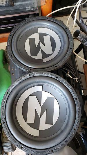 """2 12"""" Memphis audio subs for Sale in Phoenix, AZ"""