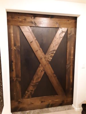Real maple wood barn doors for Sale in Avondale, AZ
