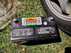 Everstart battery 2019... barely used for Sale in Dothan, AL