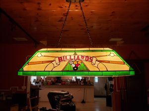 Pool table light for Sale in Lakeland, FL