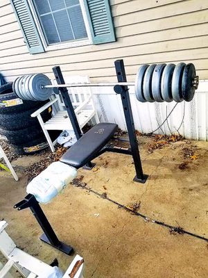 Weight bench & weights for Sale in Buckeye Lake, OH