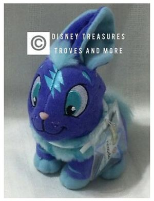 Neopets VIRTUAL KeyQuest Code Electric Cybunny Plush Doll Jakks Pacific for Sale in Homestead, FL