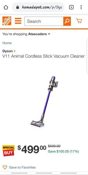 DYSON V11 ANIMAL CORDLESS VACCUME for Sale in Berenda, CA
