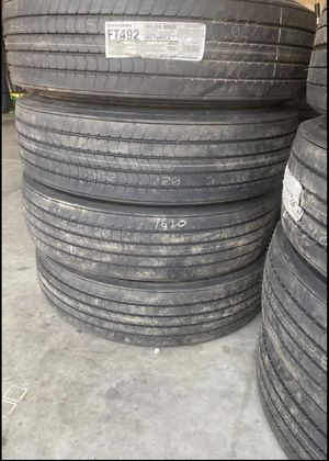 8 Trailer Firestone Tires FT492 $3000 inbox for more info for Sale in Fresno, CA