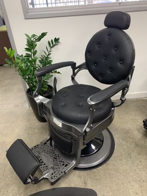 BarberPub Heavy Duty Metal Vintage Barber Chair All Purpose Hydraulic Recline Salon Beauty Spa Chair Styling Equipment 3849 Ey for Sale in Commerce, CA