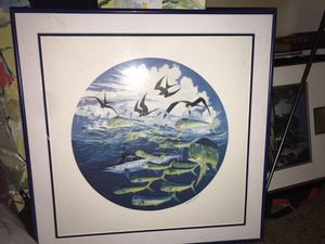 Guy Harvey limited edition el dorado numbered print for Sale in Lake Wales, FL