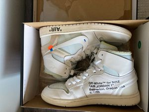 Jordan 1 Nrg Euro Off white 8.5 /10 size 9 for Sale in Chula Vista, CA