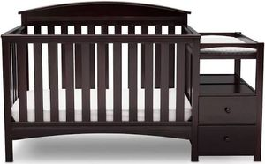 Dark Brown baby crib for Sale in Thornton, CO