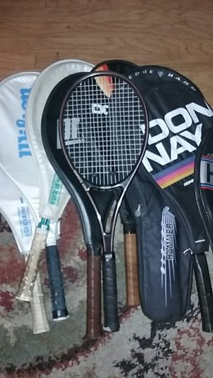 Tennis Rackets, Wilson,Sentra,Donnay,Head,MacGregor for Sale in Wheat Ridge, CO