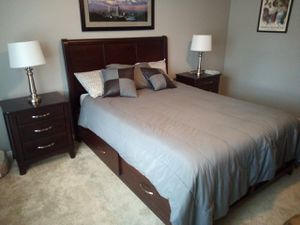 Solid Wood Bedroom Set for Sale in Tulalip, WA