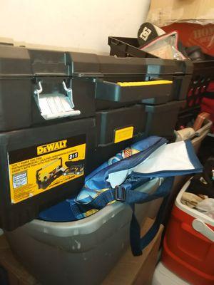 DeWalt tool box for Sale in Oklahoma City, OK