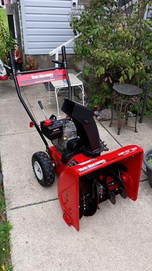 "Yard-Machines 22"" Inch 2-Stage Gas Self Propelled Snowblower for Sale in Aurora, IL"