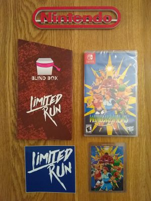 LIMITED RUN GAMES WINDJAMMERS & CARD! :) for Sale in Shippensburg, PA