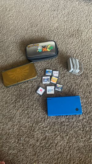 Nintendo 3DS The Legend of Zelda and DSI with games and charger with case for Sale in Upland, CA