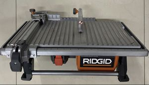RIDGID R4021 7 inch 6.5Ah Table Top Wet Tile Saw for Sale in Fort Lauderdale, FL