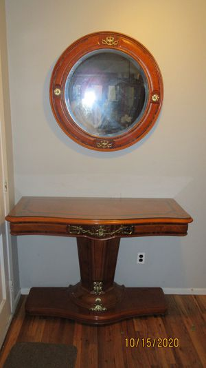 Two-Toned Italian Console and Mirror for Sale in Lakewood Township, NJ
