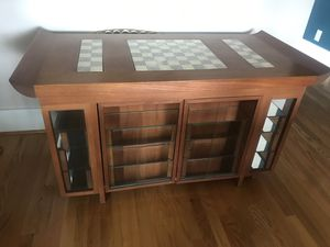 Teakwood chess table for Sale in Centralia, WA