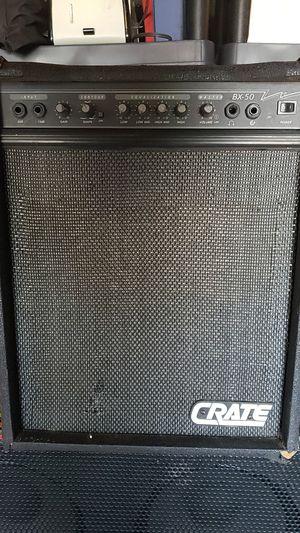 Crate BX 50 Bass Amp for Sale in San Bernardino, CA