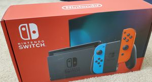 Nintendo Switch with Neon Blue and Neon Red Joy-Con for Sale in Manassas Park, VA