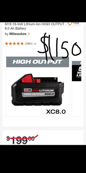 Battery, tools,power tools for Sale in Los Angeles, CA