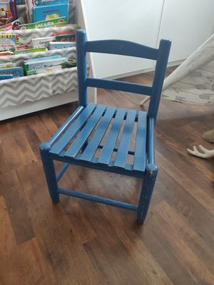 Kid's wooden chair for Sale in Rosamond, CA