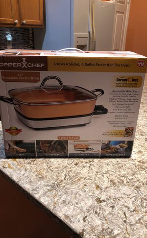 Removable electric skillet for Sale in Alexandria, VA