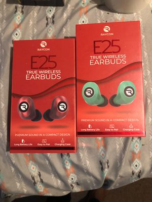 Raycon E25 true wireless earbuds for Sale in Baltimore, MD