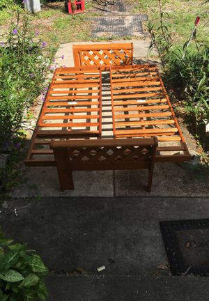 Wooden futon frame for Sale in Plant City, FL