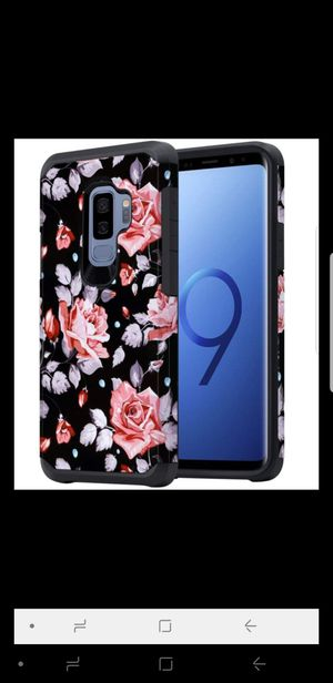 Floral Galaxy S9 Plus Case for Womennew never used for Sale in Alexandria, VA