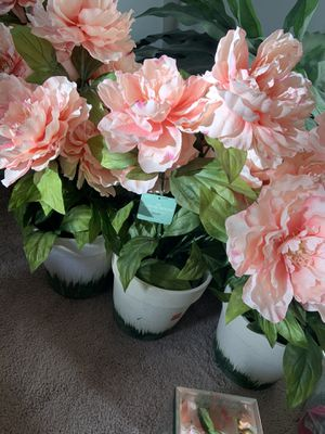 Artificial pink peonies flowers for Sale in Lone Tree, CO