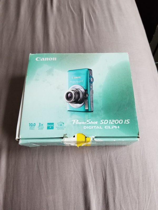 Canon PowerShot SD1200 IS Digital Elph 10.0MP 3x Optical Zoom Camera