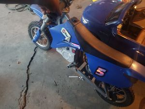 Dirt Bike with normal wear. My son misplaced the charger and doesn't want it anymore. for Sale in Glenwood, IL