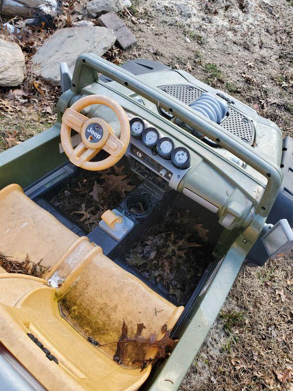 Power Wheels Jeep Hurricane 4x4 12v