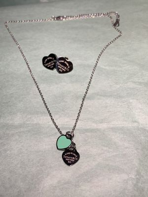 Tiffany set necklace and earrings for Sale in Miami, FL