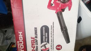Hyper Tough 25cc 2 cycle leaf blower NEW. for Sale in Huntington Beach, CA
