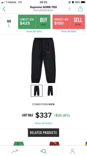 Supreme SS20 track pants for Sale in Soledad, CA