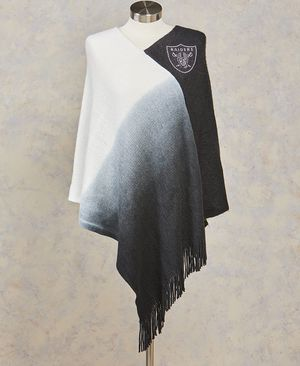 Raiders Dip Dye Poncho for Sale in Palmdale, CA