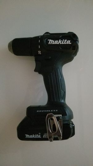 New Makita 18-Volt LXT Lithium-Ion 1/2 in. Drill/Driver (XFD11) for Sale in Hemet, CA