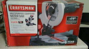 Craftsman Table Saw Compound Miter Saw with Laser Professional for Sale in Boston, MA