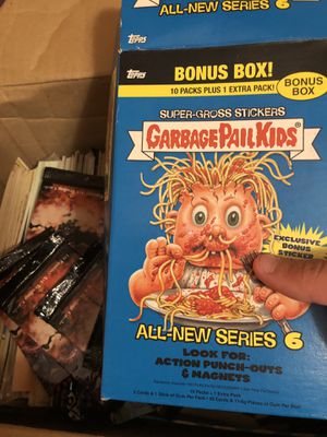 Box full of Misc. Garbage Pail Kids Cards for Sale in Round Rock, TX