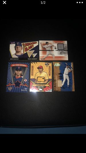 Game used Jersey and bat baseball cards for Sale in Arnold, MO