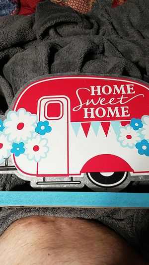 Home sweet home aluminum trailer decor for Sale in Maud, OK