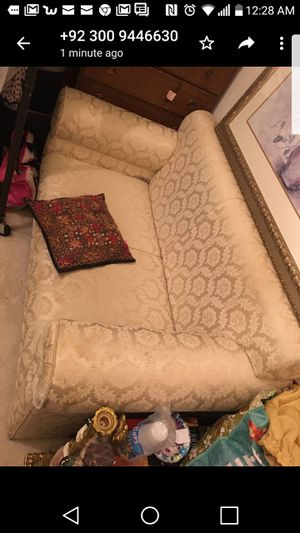 Two seat sofa couch for Sale in Leesburg, VA