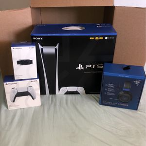 PlayStation 5 Ps5 Brand New Sealed Bundle for Sale in Santa Ana, CA