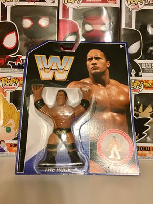The Rock Retro Series 2 WWE Figure for Sale in Houston, TX